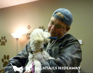 Grooming at Hightails Hideaway with Eric Frantz.